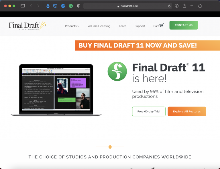 Final Draft   Best Writing Applications & Tools   Abakcus