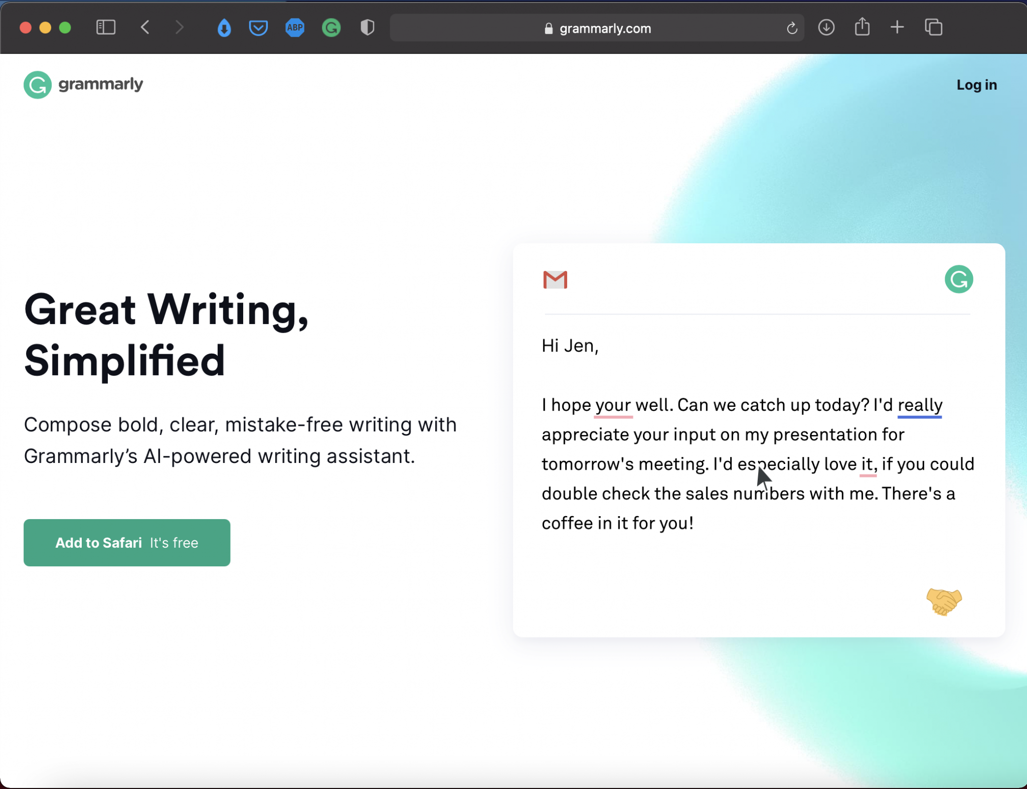 Grammarly | Best Writing Applications & Tools | Abakcus