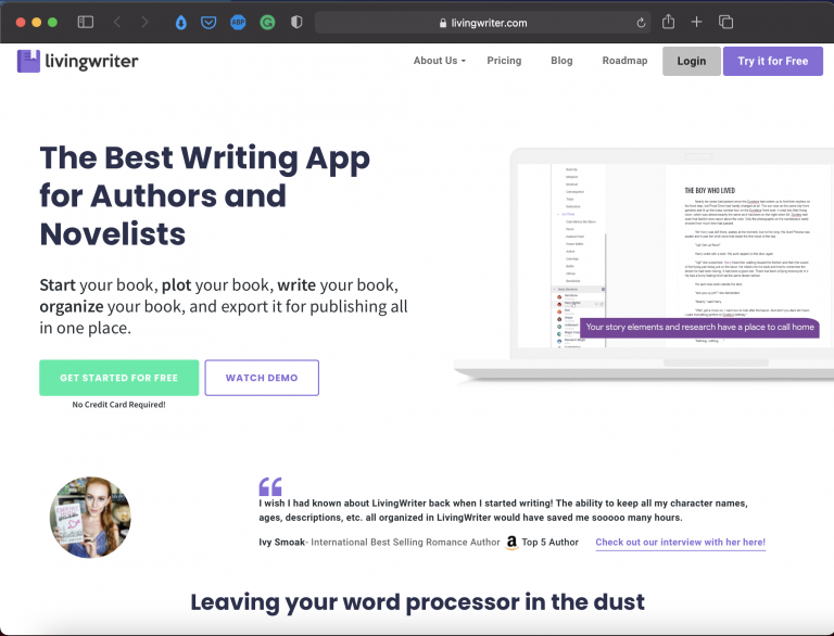 LivingWriter   Best Writing Applications & Tools