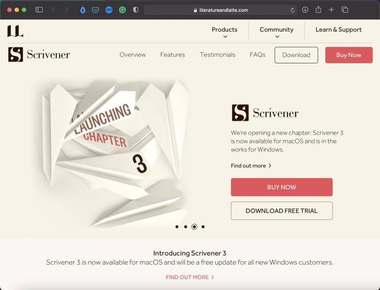 Scrivener   Best Writing Applications and Tools   Abakcus