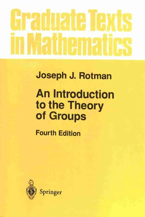 An Introduction to the Theory of Groups | Mathematics Books | Abakcus