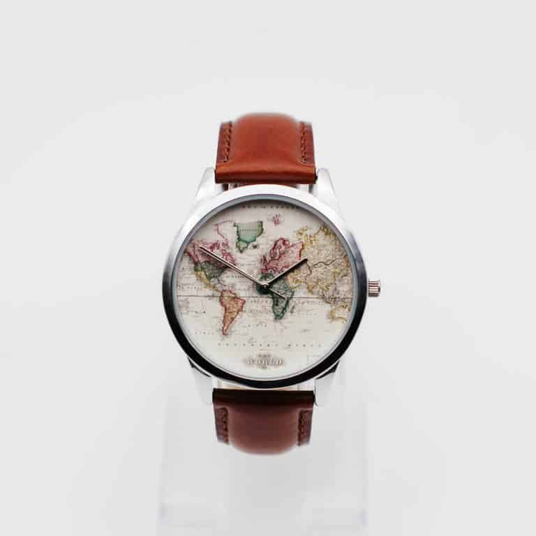 Antique Map Leather Watch | Cool Products | Abakcus