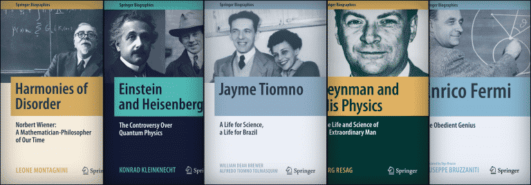 48 Springer Biographies About Remarkable Scholars and Innovators