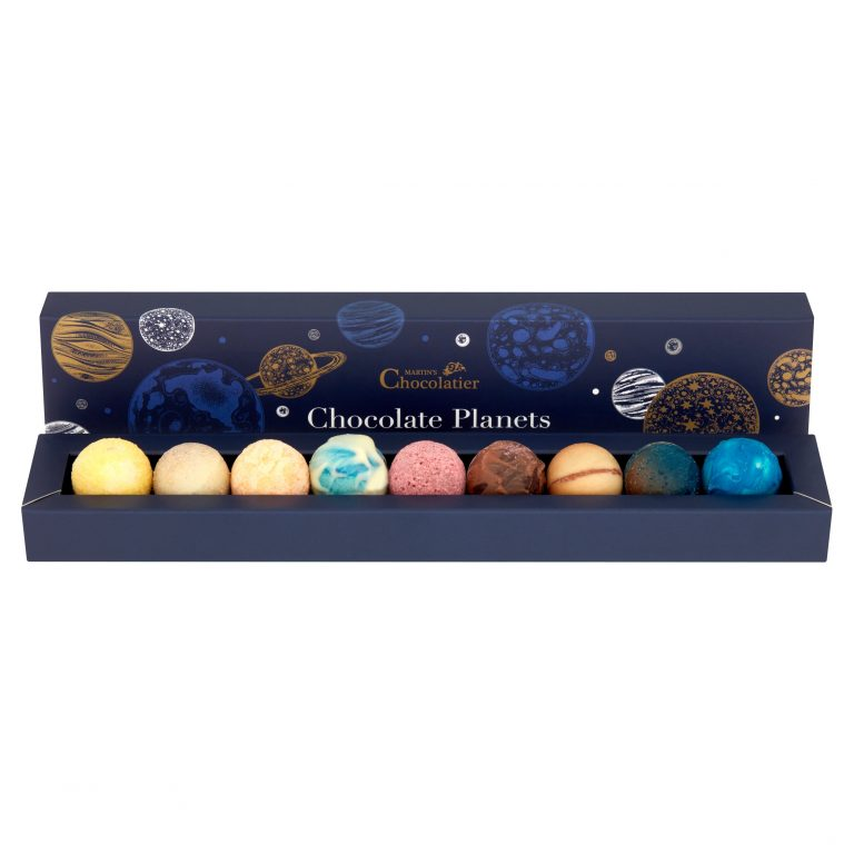 Martins Chocolatier Luxury Chocolate Planets | Cool Products | Abakcus