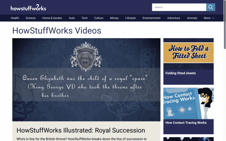 HowStuffWorks Videos | Online Tools for Teachers | Abakcus