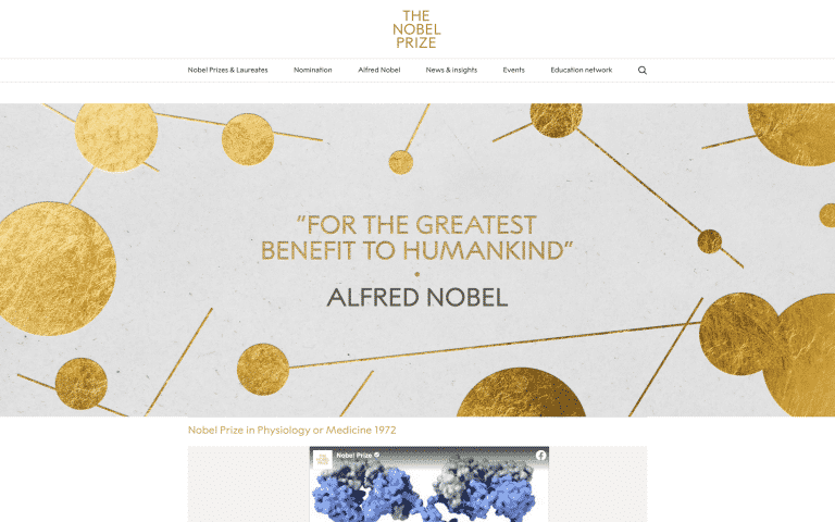 The Nobel Prize | Online Tools for Teachers | Abakcus