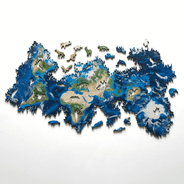 Earth Infinity Puzzle   Cool Products   Abakcus